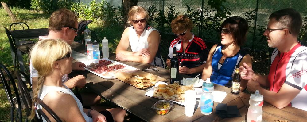Food, Wine and Bike