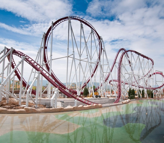 Rainbow Magicland, montagne russe