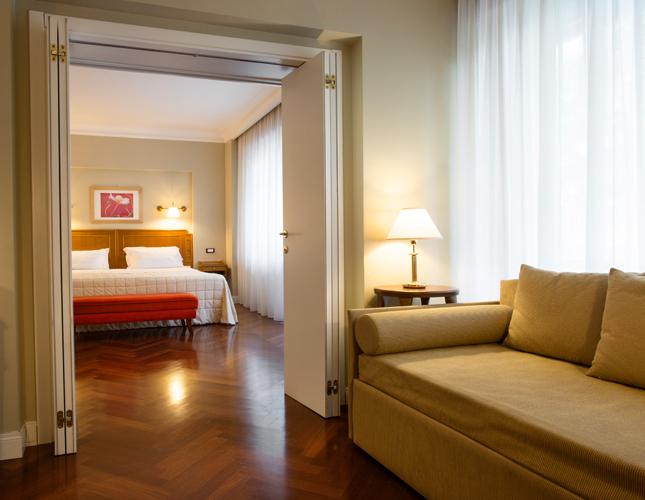 Suite Superior del Silva Splendid Hotel