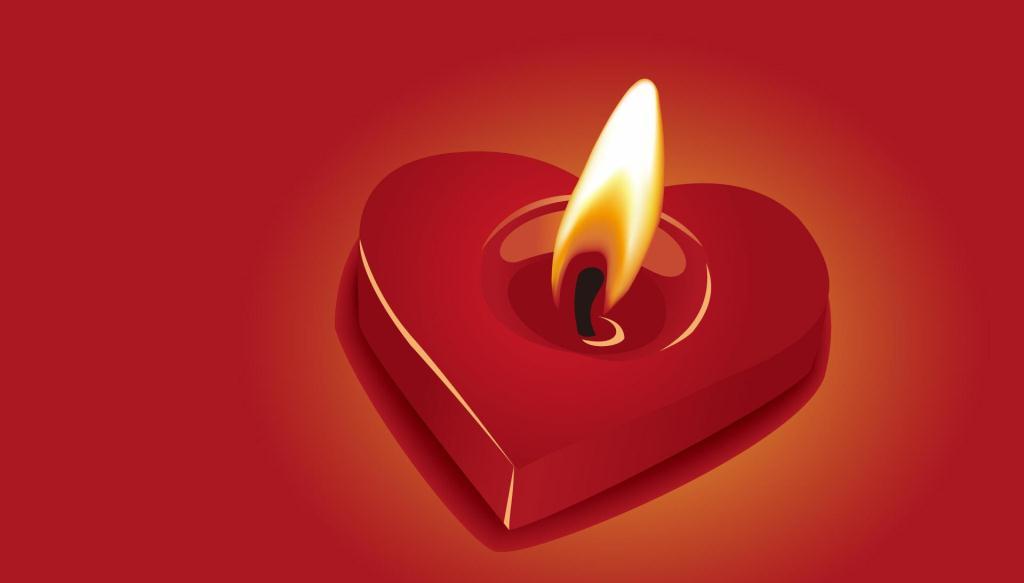 candela rossa