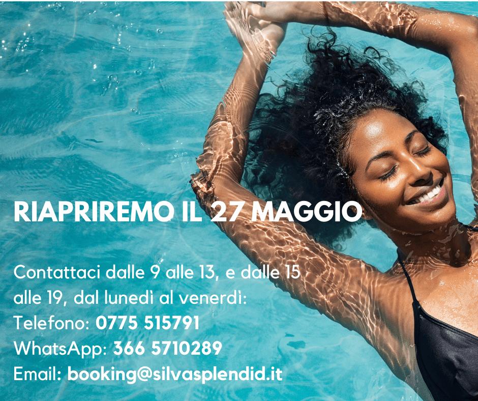 Riapertura Hotel Silva Splendid 27 Maggio